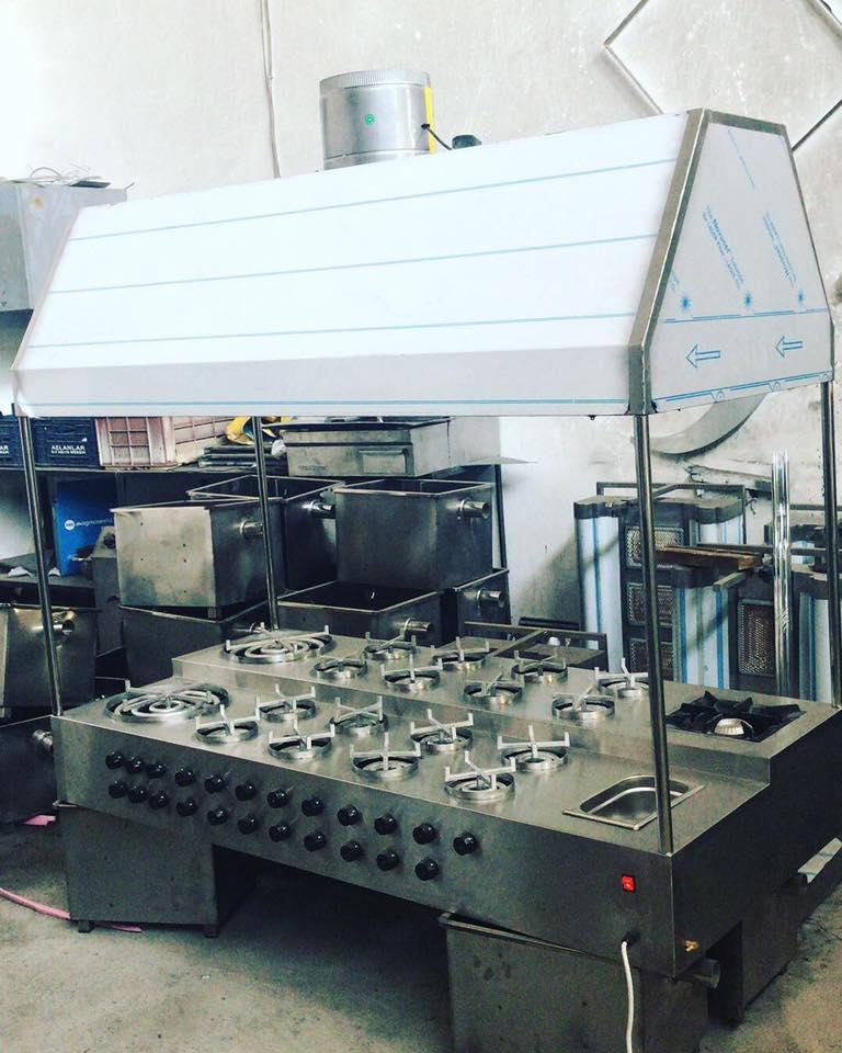 Künefe Makinesi Otomatik Dönerli Ce Belgeli Gazmerli 16 Gözlü
