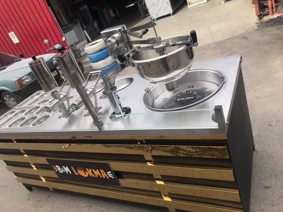 Yeni Nesil Lokma Makinesi-Çikolatalı Lokma makinesi