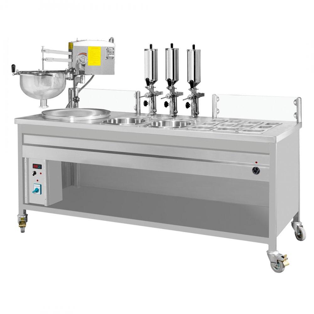 Çikolata Pompalı Lokma Makinası